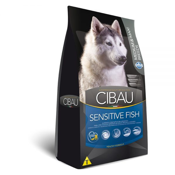 Cibau Sensitive Fish Medium e Maxi Breeds 12kg