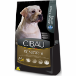 Ração Cibau Senior Medium e Maxi Breeds