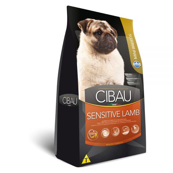 Ração Cibau Sensitive Lamb Mini Breeds