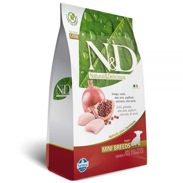 N&D Adult Frango e Romã Mini Breeds Grain Free