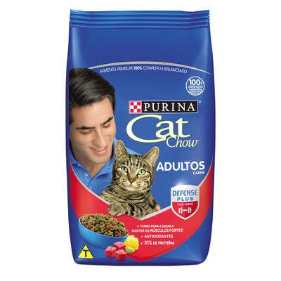 Ração Cat Chow Adultos Carne