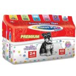 Tapete Higiênico Premium Plast Pet Care 24 Unidades