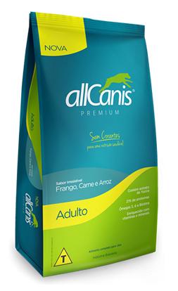Racao-AllCanis-Adulto-Frango-e-Arroz