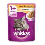 Whiskas-Sache-para-Gatos-Adultos-Sabor-Frango-ao-Molho-85g