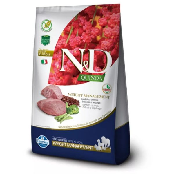 racao-nd-quinoa-weight-cordeiro-pet-life-bh