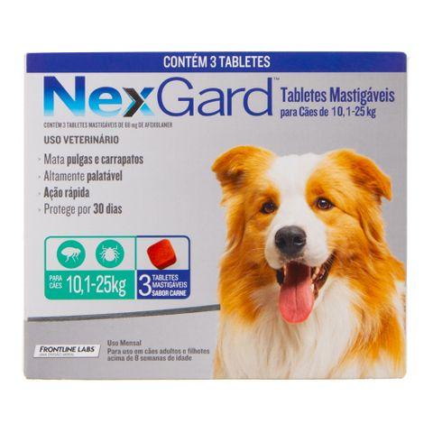 Antipulgas-e-Carrapatos-Merial-Nexgard-para-Caes-de-101-a-25Kg-com-3-Tabletes