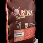 Racao-Quatree-Supreme-Gatos-Castrados-Salmao-e-Arroz